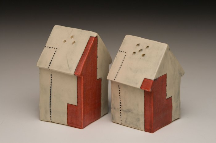 Salt and Pepper Shaker Houses